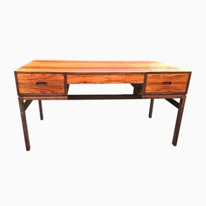 Model 80 Rosewood Desk by Arne Wahl Iversen for Vinde Mobelfabrik, 1960s