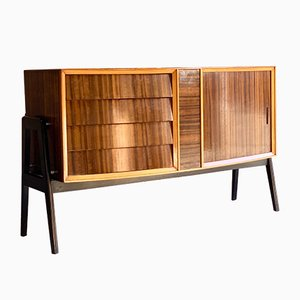 Rosewood Cocktail Cabinet Sideboard by Herbert Gibbs, 1950s