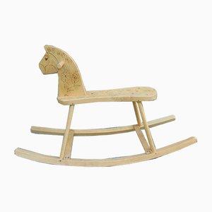 Vintage Wooden Rocking Horse from Drexler Fasser, 1970s