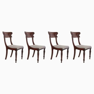 William IV Dining Chairs, Set of 4