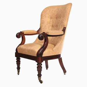 William IV Rosewood Spoon Back Armchair