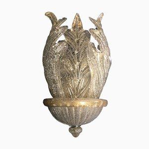 Wandlampe aus Muranoglas von Barovier & Toso, 1980er