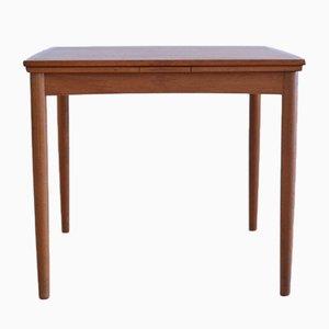 Extendable Teak Table by Poul Hundevad for Dogvad Möbelfabrik, 1964