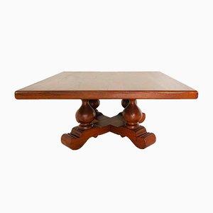 Table Art Déco en Bois, 1950s