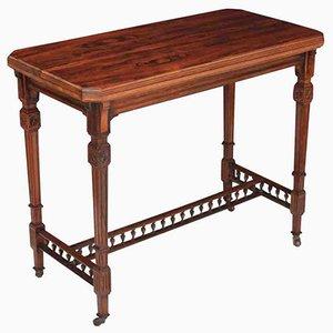 Mesa para cartas antigua de palisandro