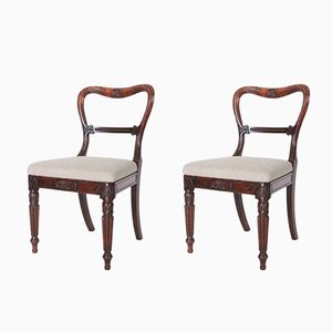Antique Rosewood Chairs, Set of 2