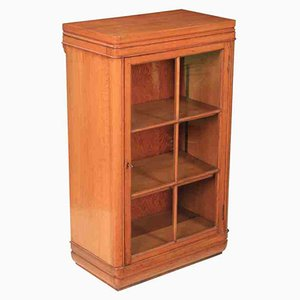 Small Art Deco Oak Cabinet