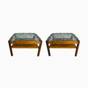 Mid-Century Teak Coffee Tables from G Plan, 1960s, Set of 2