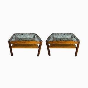 Tavolini da caffè Mid-Century in teak di G Plan, anni '60, set di 2