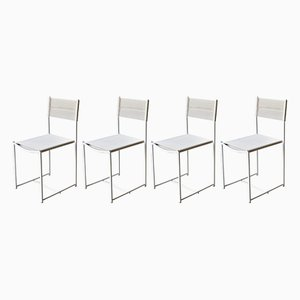 Spaghetti Chairs by Giandomenico Belotti for Alias, 1980s, Set of 4
