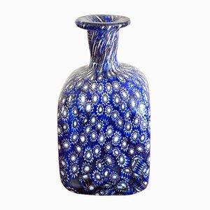 Vase aus Muranoglas von Millefiori, 1950er