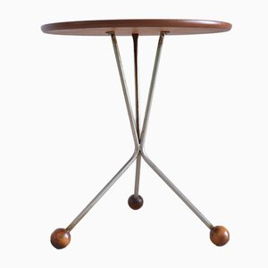 Teak Tripod Coffee Table by Albert Larson for Tibro, 1961
