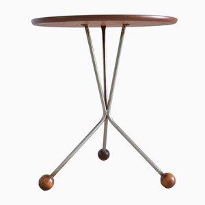 Teak Tripod Coffee Table by Albert Larson for Tibro, 1961
