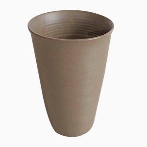 Braune handgefertigte Vase von Studio RO-SMIT