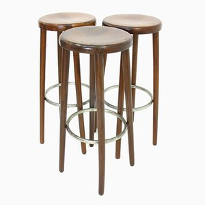 Bar Stools, 1970s, Set of 3