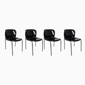 SM 400 Stackable Chairs by Gerd Lange for Drabert, 1986, Set of 4