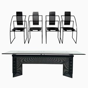 Dining Set by Mario Botta for Alias, 1985