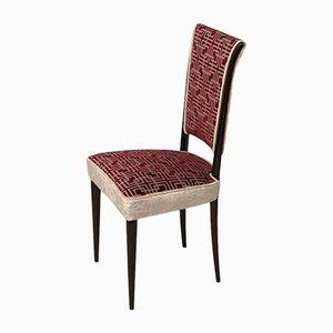 Italienische Mid-Century Stühle, 1950er, 4er Set