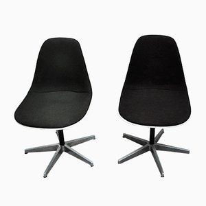 Amerikanische Mid-Century Esszimmerstühle von Charles & Ray Eames für Herman Miller, 1960er, 2er Set