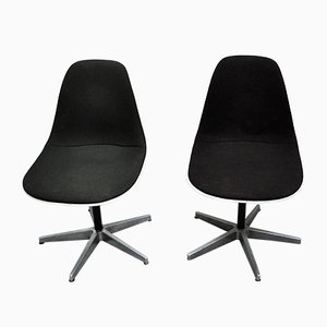 Mid-Century American Dining Chairs by Charles & Ray Eames for Herman Miller, 1960s, Set of 2