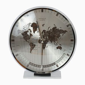 Vintage World Clock from Kienzle International, 1980s