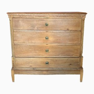Large Antique Louis XVI Oak Commode