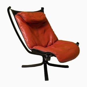 Viking Sessel von Sigurd Ressell für Poltrona Frau, 1970er