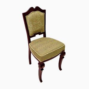 Art Deco Mahogany Wood Chairs, 1920, Set of 6