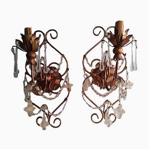 Antike Wandlampen, 1900er