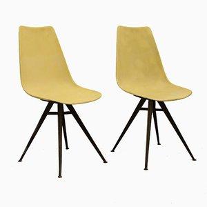 Stühle aus Glasfaser von Vertex, 1950er, 2er Set