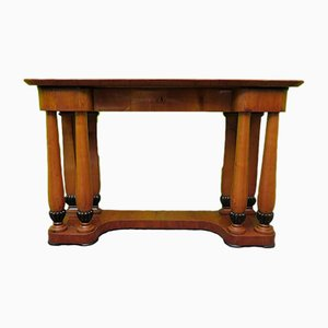 Antique Biedermeier Austrian Cherrywood Console Table, 1820s