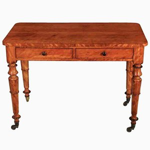 Satinwood Side Dressing Table, 1830s