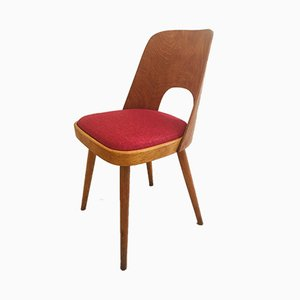 Vintage Dining Chairs by Oswald Haerdtl for TON, 1950s, Set of 4