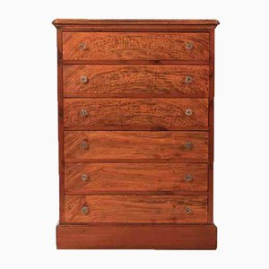 Slim Antique Chest of Drawers, 1860s