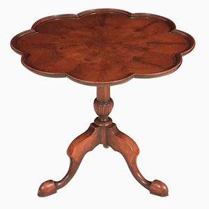Walnut Tip Top Occasional Table, 1920s