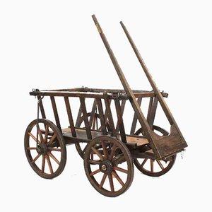 Rustic Donkey Cart, 1970s