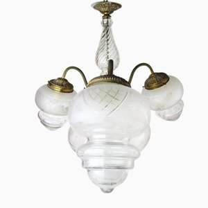 Antike französische Deckenlampe