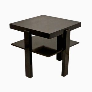 Square Antique Jugendstil Side Table, 1900s