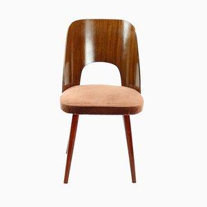 Moderne Mid-Century Stühle aus Buche von Oswald Haerdtl für TON, 1950er, 4er Set
