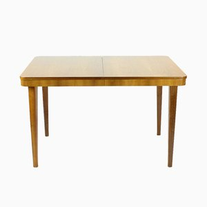Czech Fold-Out Dining Table in Beech by Jitona, 1960s