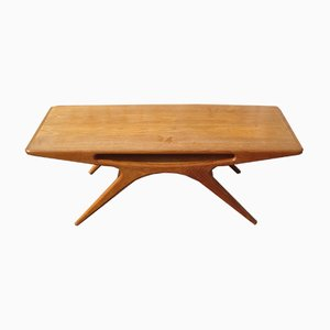 Smiley Coffee Table by Johannes Andersen for CFC Silkeborg, 1957