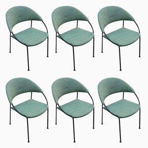 Vintage Stühle von Gastone Rinaldi für Rima, 1956, 6er Set