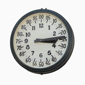 Horloge d'Usine Vintage Industrielle