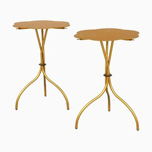 Vintage Italian No. 612 Cipango Side Tables by Emaf Progetti for Zanotta, 1980s, Set of 2