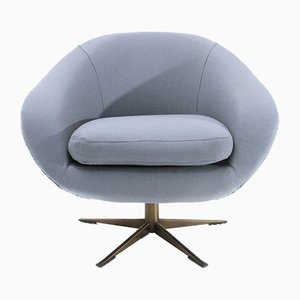 Julia Gray Swivel Armchair from Ceriotti, 1960s