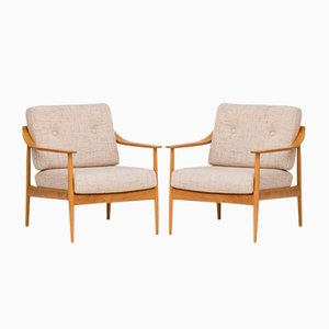 Easy Chairs by Walter Knoll, 1950s, Set of 2