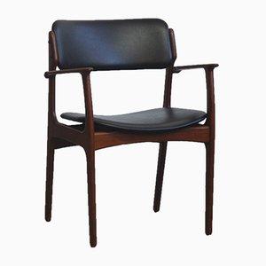 Armlehnstuhl aus Palisander von Erik Buch für OD Møbler, 1960er