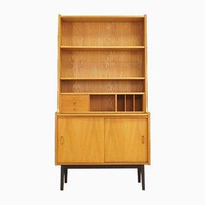 Dänisches Vintage Bücherregal aus Eschenholz