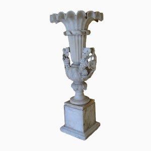Antike Urne aus Alabaster