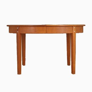 Table Vintage en Teck, Danemark, 1970s